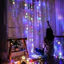 3m*3m LED rideau lumineux Guirlande lumineuse 320