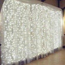 3m * 3m LED rideau lumineux Guirlande lumineuse