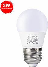 3W Led E27 Ampoules A Economie D'Energie Blanc