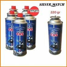 4 cartouches gaz 227g butane Bouteille de gaz