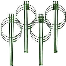4 Ensembles De Piquets De Support Pour Plantes, 3
