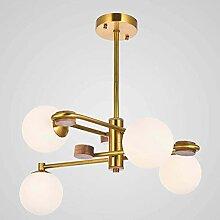 4-lumières Créativité Molécule Lustre Moderne