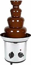 4 niveaux Fontaine à chocolat électrique Machine