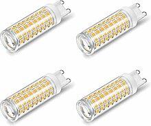4 Pack Ampoules LED Intensité Variable G9 Maïs
