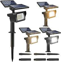 [4 PACK] Spot LED Exterieur Solaire, CLY