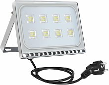 4 PCS 50W 6ème génération de lampadaire