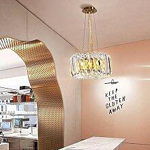 40 * 40 * 22cm Luxe Lustre En Cristal Lampe LED