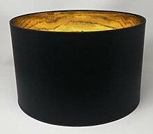 40 cm Tambour Abat-jour , Fait à la Main , Tissu