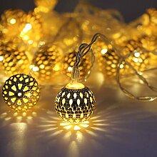 40 LED Rideau Lumière,rideau lumineux noel, Noël