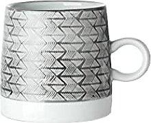 400 Ml Vintage Poterie Tasses Sous Glaçure En
