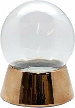 40039-150 mm Boule à neige avec boule en verre et