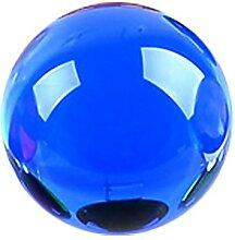 40mm 4 couleurs cristal boule de verre boule de