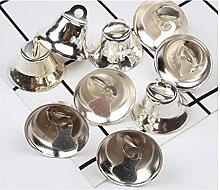 40pcs 20mm Bells en aluminium Bricolage artisanat