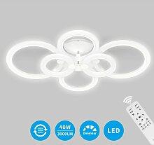40W Plafonnier LED Rond Dimmable LED Économisez