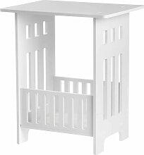 40x32x26CM bricolage blanc table de chevet moderne