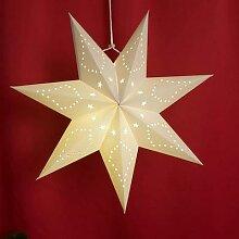 45cm évider étoile fête lumière abat-jour