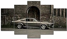45Tdfc Impression sur Toile Abstraite for Mustang