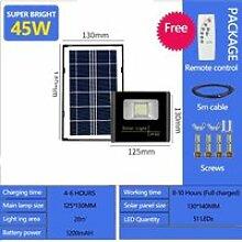 45W 51LEDs -Projecteur solaire puissant à 353