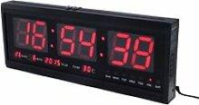 48cm horloge murale numérique grande LED temps