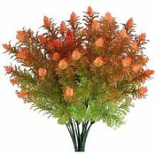 4pcs Arbuste Artificiel buissons Plante