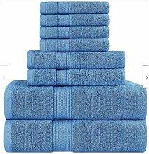 4pcs / set 100% serviettes en coton turc ensemble