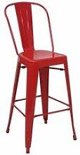 4x tabouret de bar hwc-a73, chaise de comptoir