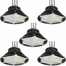 5× 100W UFO LED Anti-Éblouissement Suspension