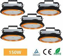 5× 150W UFO LED Projecteur Industreil Suspension