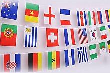50 drapeaux du monde,Drapeaux du Monde Fanion