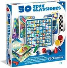 50 jeux classiques CLE52165