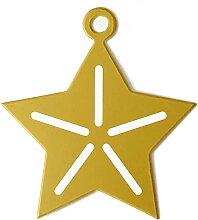 50 pièces cadeau de Noël étiquettes volantes