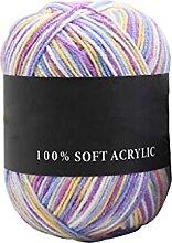 50g Durable Triple Brands Tricot Crochet Coton