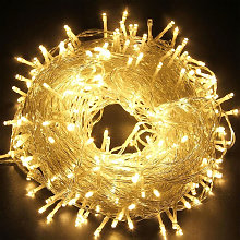 50M 500 guirlandes lumineuses à LED blanc chaud 8