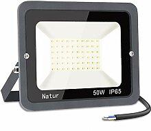 50W Projecteur LED, bapro 5000LM Spot LED