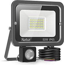 50W Projecteur LED Détecteur de Mouvement, bapro