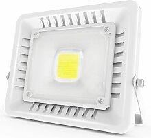 50W Projecteur LED IP65 Étanche Ultra-Mince Spot