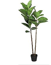 51in Plante Artificielle en Pot PU Grand Arbre