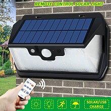 53LED 800LM Lampe Solaire Avec Télécommande