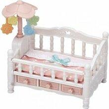5534 sylvanian families le lit de bebe et mobile