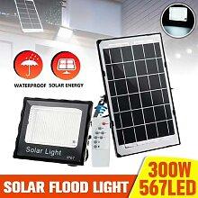 567 éclairage Led 300W Lampe SOLAIRE Portable