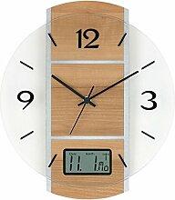5915 Horloge murale radio-pilotée aMS, affichage