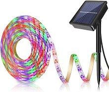 5M 150LED solaire alimenté bande lumière