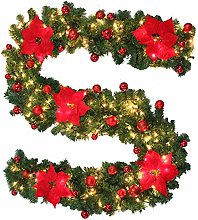 5M Guirlande lumineuse sapin artificiel de Noël