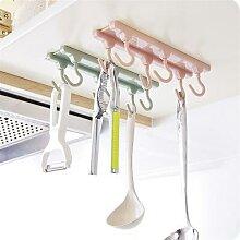 6 accessoires de cuisine suspendus décoration