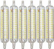 6 Pack R7S 118Mm LED Maïs Lignt 1500 Lumen