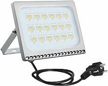 6 PCS 100W 6ème génération de lampadaire