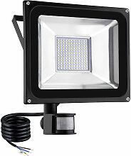 6 PCS 100W Projecteur LED SMD Lampe Extérieure