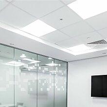 6 PCS grand panneau d'éclairage de bureau