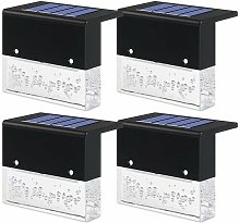 6 pièces de lumière solaire cour extérieure