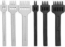 6 pièces Ensemble d'outils de Perforation à